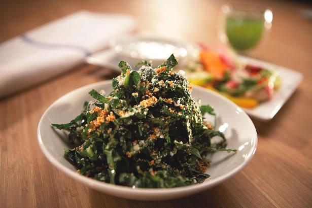 Dr Weil's Kale Salad Recipe — Dishmaps