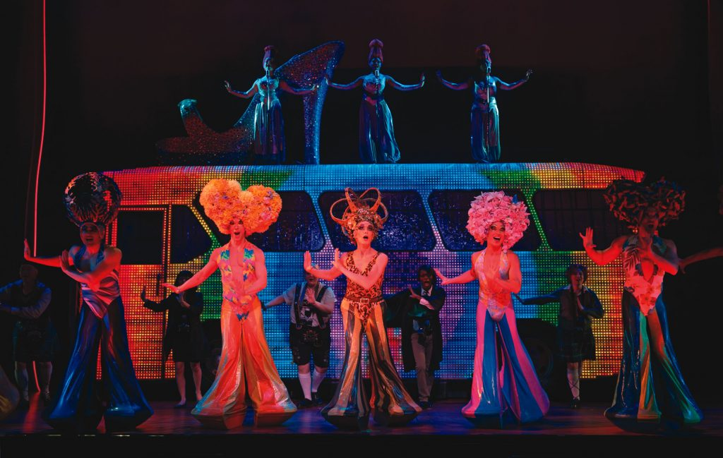 """This October, """"Priscilla Queen of the Desert"""" comes to the Segerstrom Center for the Arts."""