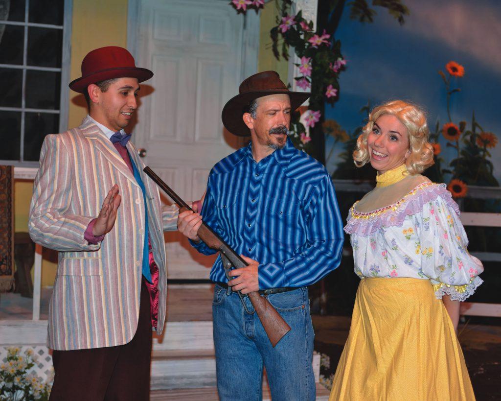 "Newport Theatre Arts Center production of ""Oklahoma""."