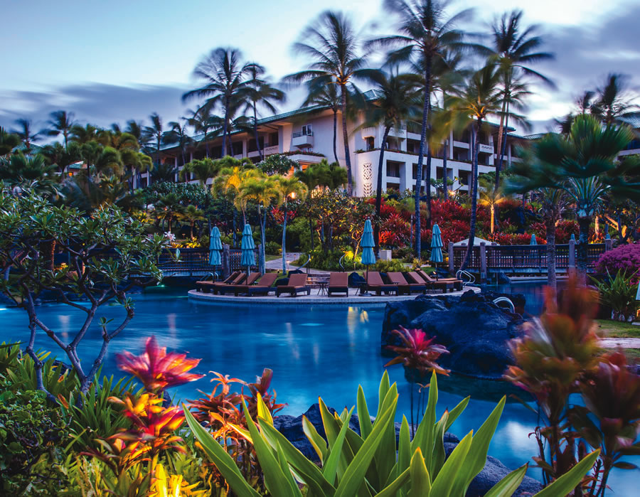 The Grand Hyatt Kauai Resort and Spa boasts a championship 18-hole golf course, restaurants, a spa, pools and more.