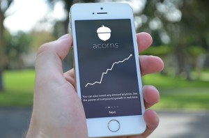 Acorns for iPhone-Photo by Aubrey Johnson