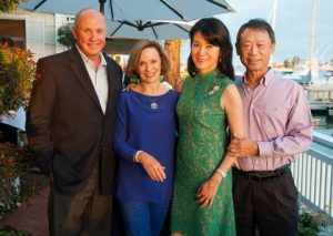 Candlelight Concert 2014 - Kickoff event - Larry & Dee higby, Betty and S.L. Huang -  by Doug Gifford -1 (56)